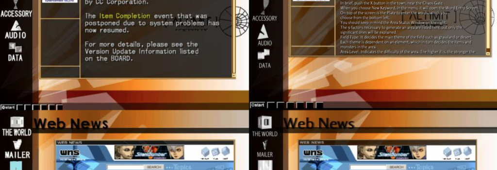 A screenshot of the Altimit OS clone